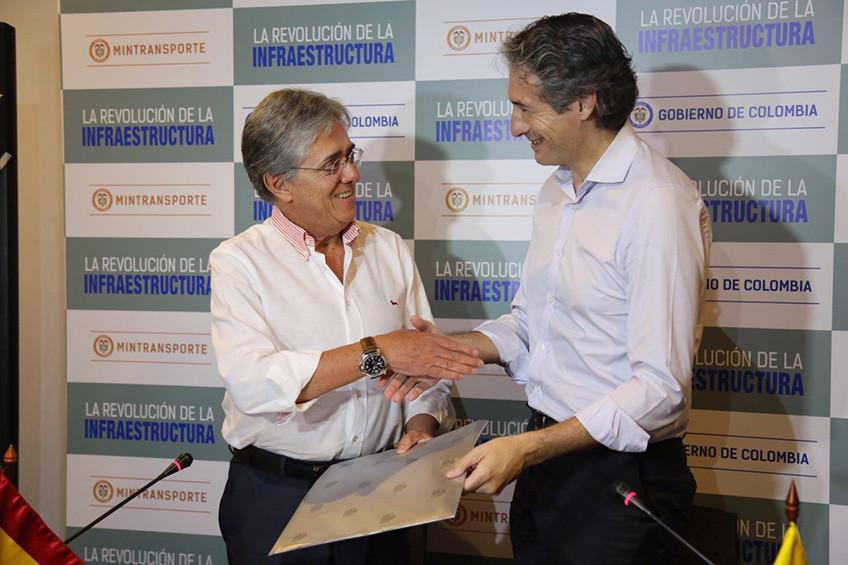 España y Colombia cooperarán en infraestructura y transporte