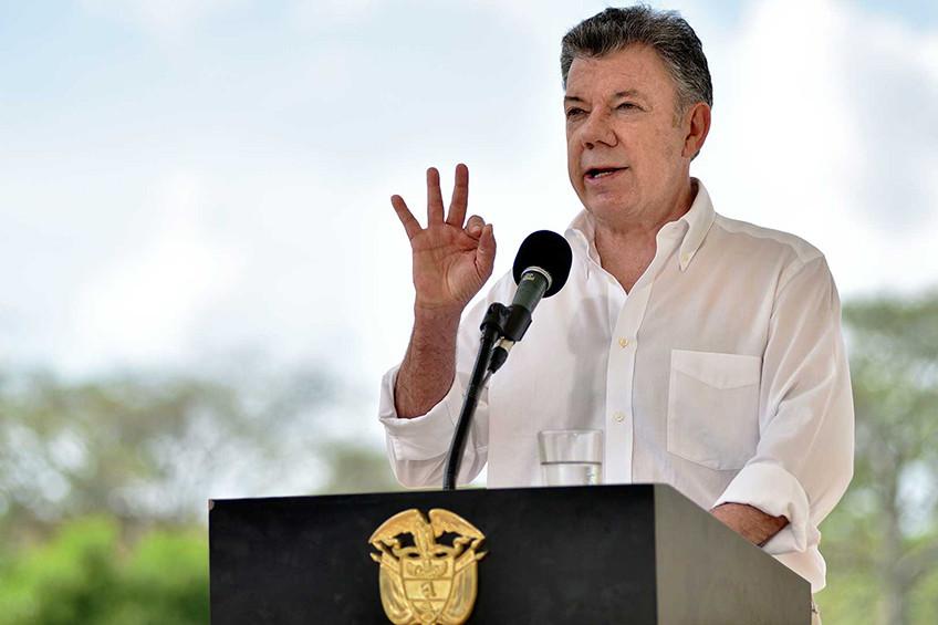 2018, año del afianzamiento de la Paz según Juan Manuel Santos