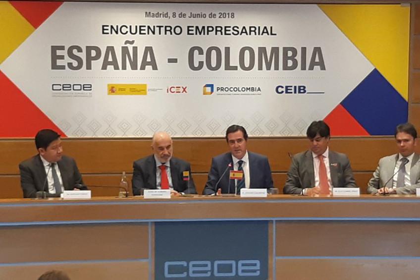 Encuentro empresarial España-Colombia en CEOE