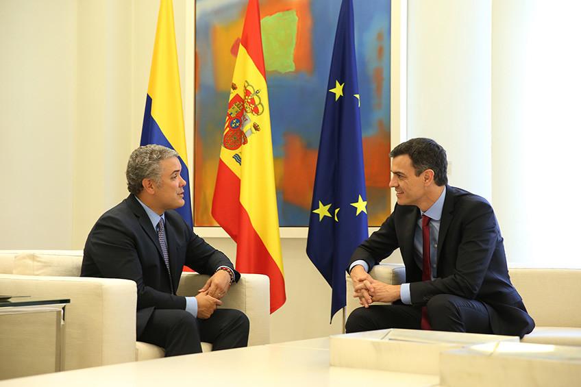 Iván Duque visita de nuevo España