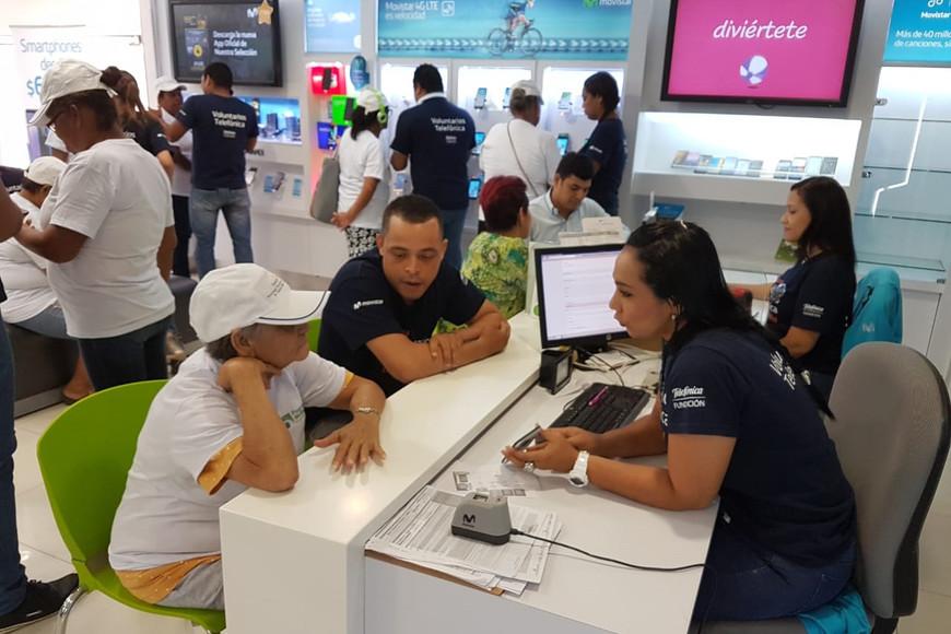 Telefónica Colombia participa en el Día Internacional del Voluntariado