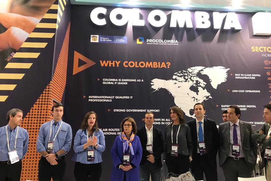 Colombia participa en el MWC Barcelona