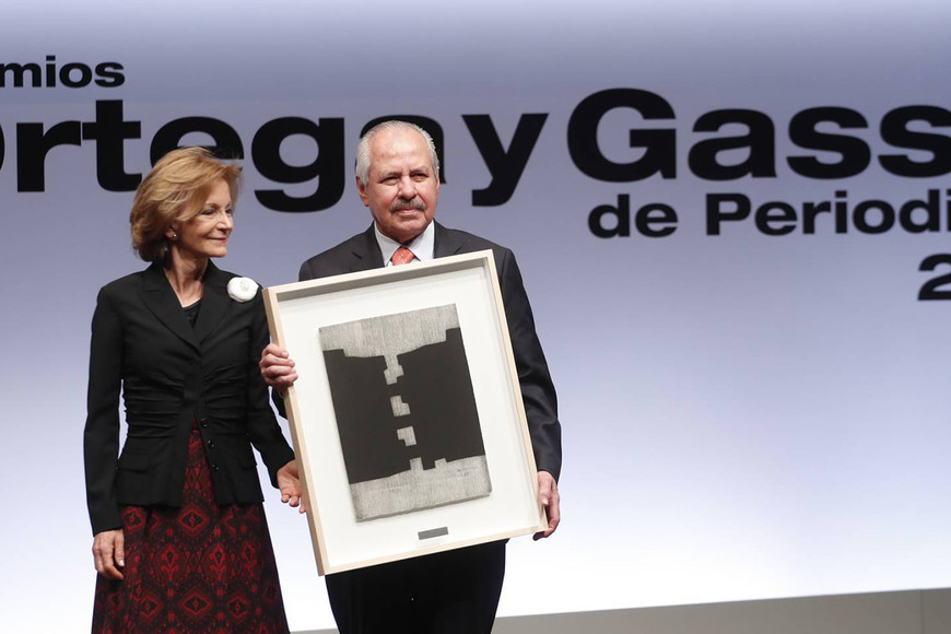 Darío Arizmendi, premio Ortega y Gasset de Periodismo 2019