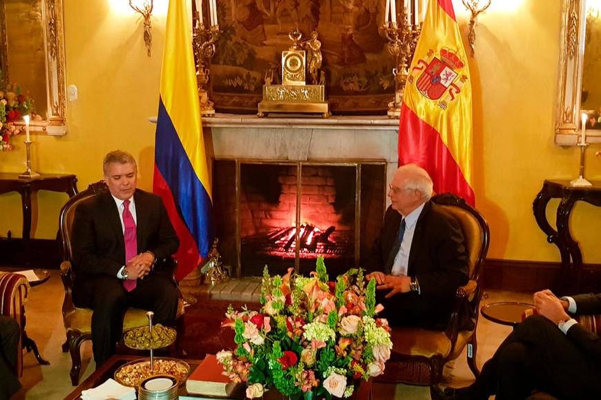 Visita de trabajo a Colombia del ministro de Exteriores español