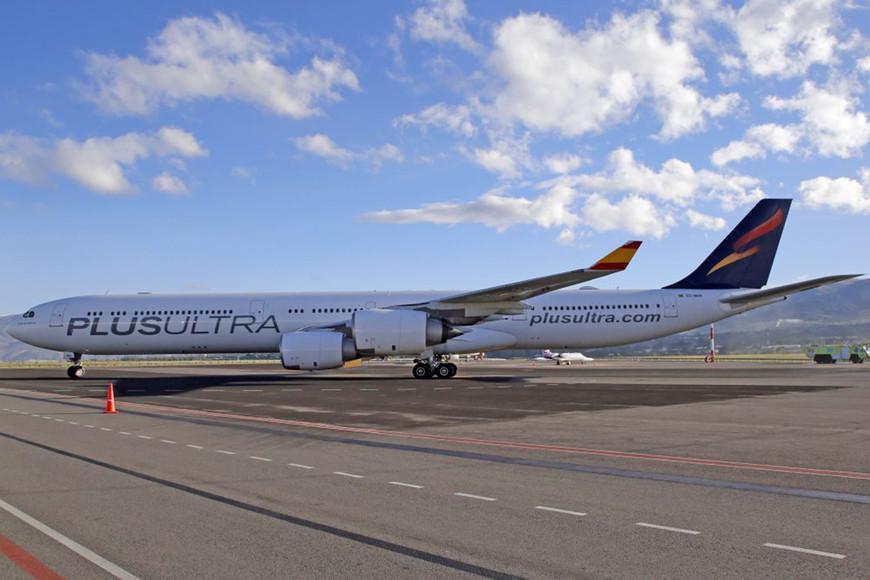 Plus Ultra abre la venta de billetes para volar entre España y Colombia