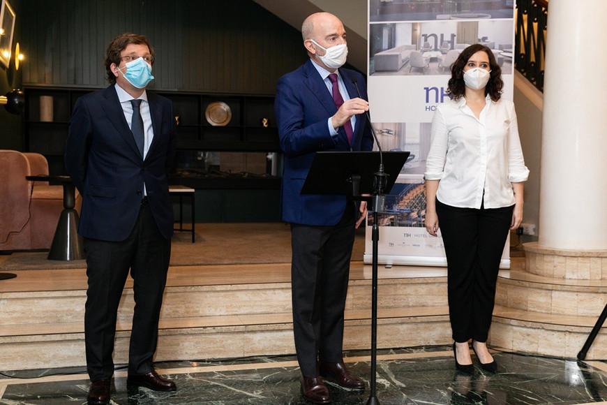 NH Hoteles presenta su plan de reapertura mundial