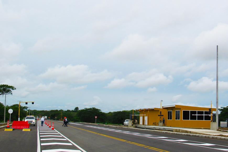Sacyr inaugura un tramo de la autopista Puerta de Hierro