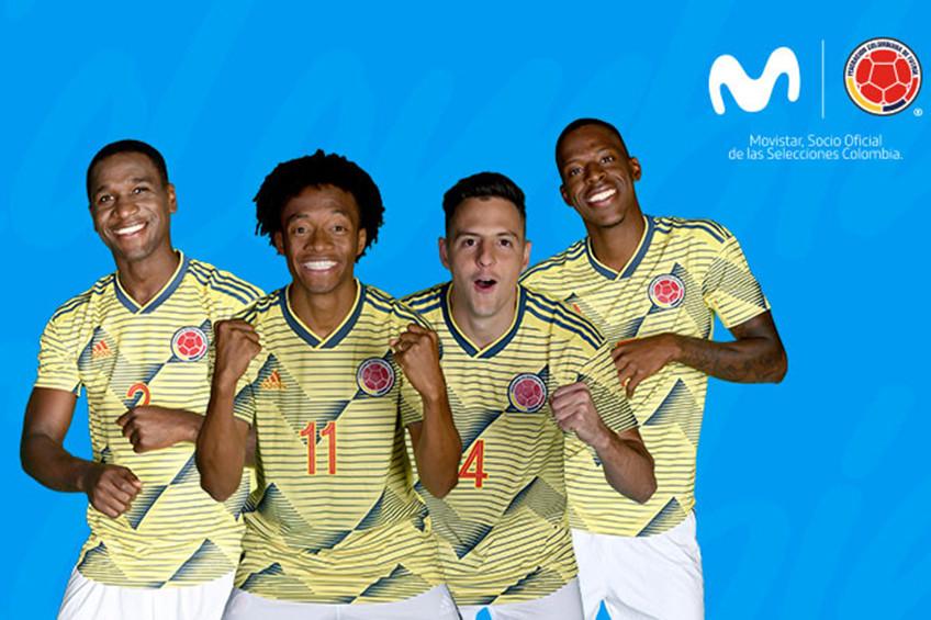 Movistar apoya un año más a la Selección Colombiana de Fútbol
