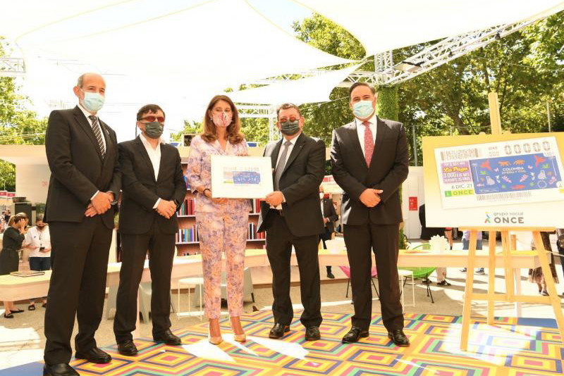 Colombia, protagonista de un cupón de la ONCE en diciembre
