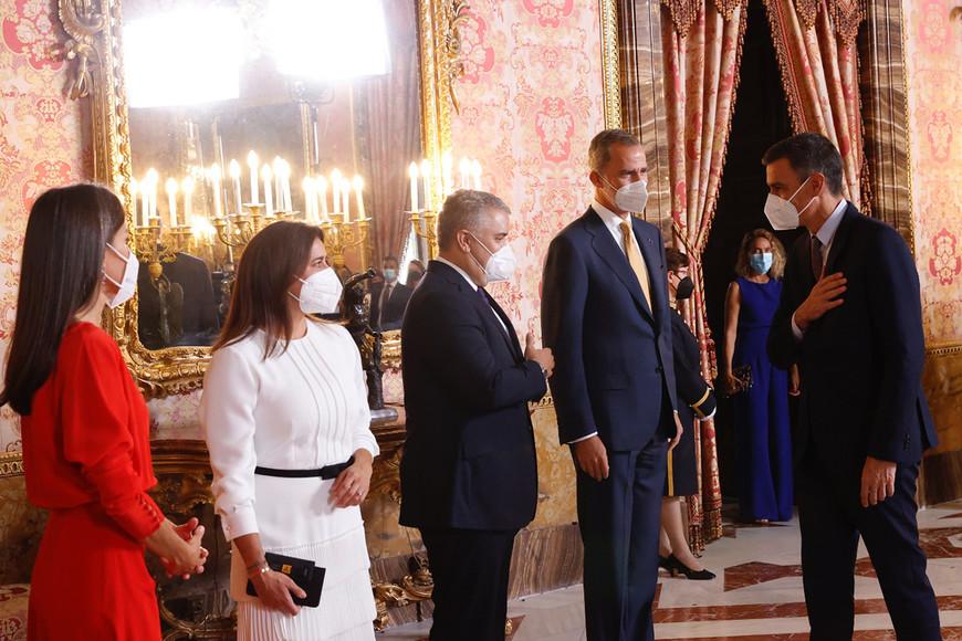 Visita oficial a España del presidente de Colombia