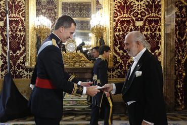 Presentación de Cartas Credenciales del nuevo embajador de Colombia en España