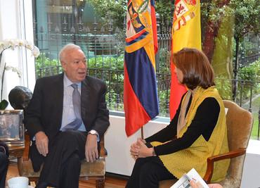 José Manuel García-Margallo se reúne con su homóloga colombiana