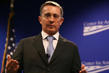 Álvaro Uribe, Medalla de Honor de la Universidad Menéndez Pelayo
