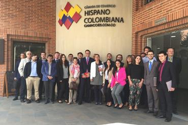 Empresas aragonesas buscan abrir mercado en Colombia