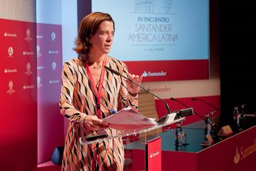 Confianza de Santander en la estabilidad económica de América Latina