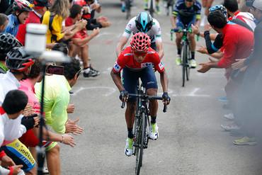 El colombiano Nairo Quintana, ganador de la Vuelta 2016