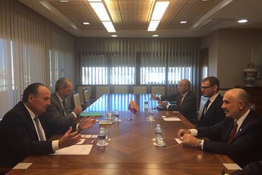 Visita del embajador de Colombia a la Comunidad Valenciana