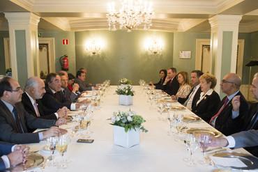 Reunión del presidente de la CEOE con embajadores iberoamericanos