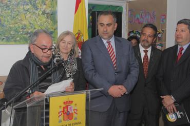 La Embajada de España inaugura una exposición sobre la Paz en Bogotá