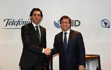 Telefónica y el BID amplían su alianza estratégica hasta 2020