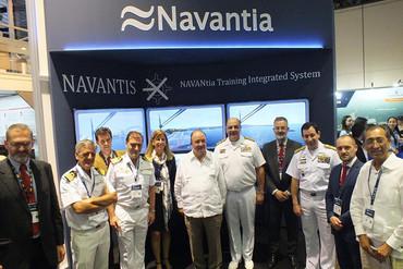 Navantia participa en la Feria Colombiamar