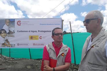 El Embajador de España realiza una visita oficial al Chocó