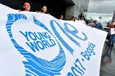 La cumbre juvenil One Young World 2017 se celebra en Bogotá