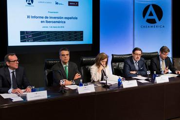 Perspectivas optimistas para la inversión española en Iberoamérica