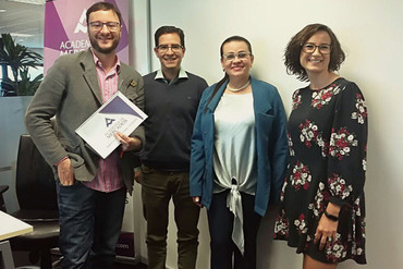 Acuerdo entre la colombiana Unicórdoba y Academia de Mercados de Madrid