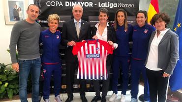 El Atlético femenino viaja a Colombia