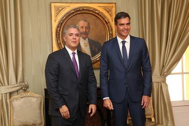 Visita a Colombia del presidente del Gobierno español