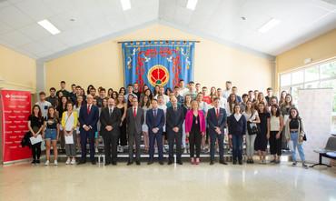 La UPNA y Banco Santander entregan 138 becas de movilidad internacional