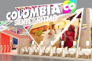 Música y ritmo vertebran el stand de Colombia en FITUR 2020