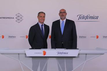 Alianza Telefónica-Atresmedia para potenciar el talento español y latinoamericano