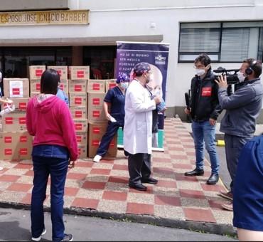 Los empleados de Mapfre donan 11.000 euros contra la pandemia