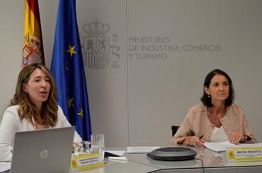 Reyes Maroto confía en el sector exterior para la recuperación económica