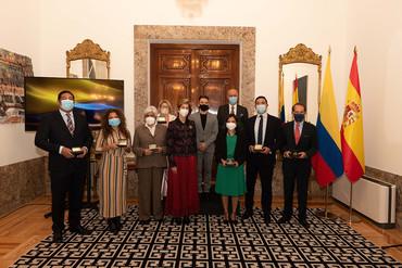 La Embajada de Colombia entrega sus Premios a destacados colombianos en España
