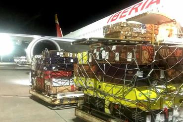 Iberia transporta más de cuatro millones de rosas colombianas