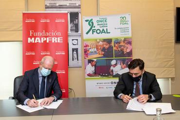 Acuerdo de colaboración entre Fundación Mapfre y FOAL