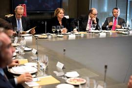 Almuerzo con la presidenta de la Cámara de Comercio de Bogotá