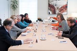 #LíderesColombia 2018: Reunión con la secretaria de Estado de Comunicación