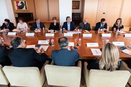 Reunión con el ministro de Relaciones Exteriores de Colombia