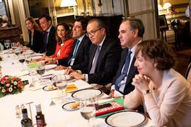 Almuerzo con el Procurador General de la Nación en Colombia, Fernando Carrillo