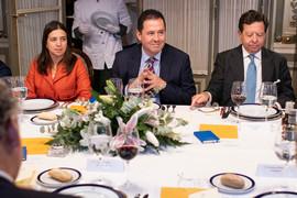 Almuerzo con el Gerente de la Frontera con Venezuela en el Gobierno de Colombia
