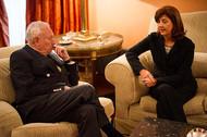 Encuentro entre María Ángela Holguín y José Manuel García-Margallo