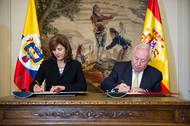 Firma del acta de la Comisión Mixta por la que se aprobó el Marco de Asociación País (MAP) de la Cooperación Española en Colombia